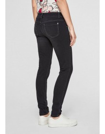 S.oliver Black Label Sienna Slim: Dark Stretchjeans afbeelding