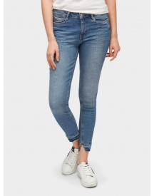 Tom Tailor Denim Skinny Fit Jeans Nela Extra Skinny Ankle Jeans afbeelding