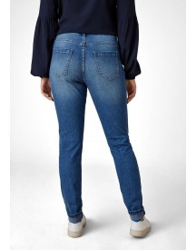 Triangle Fancy Boyfriend: Jeans Met Destroyed Details afbeelding