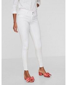 Vero Moda Seven Witte Nw Shape-up Skinny Jeans afbeelding