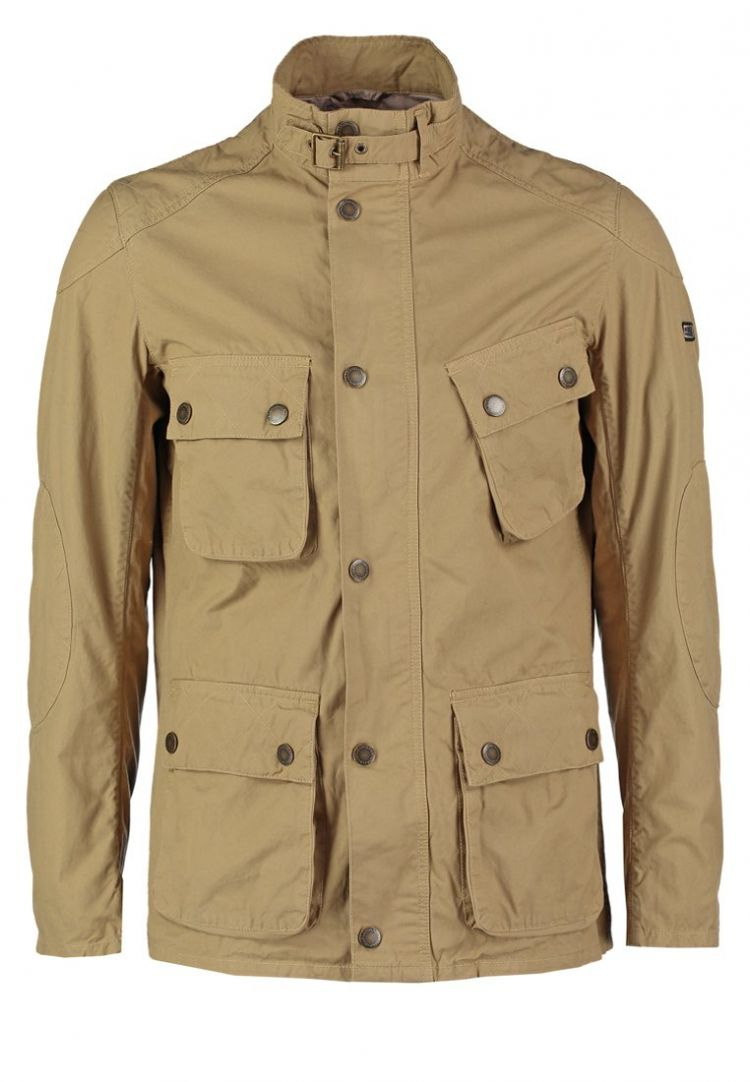 Image Barbour International™ Smokey Korte Jassen Stone