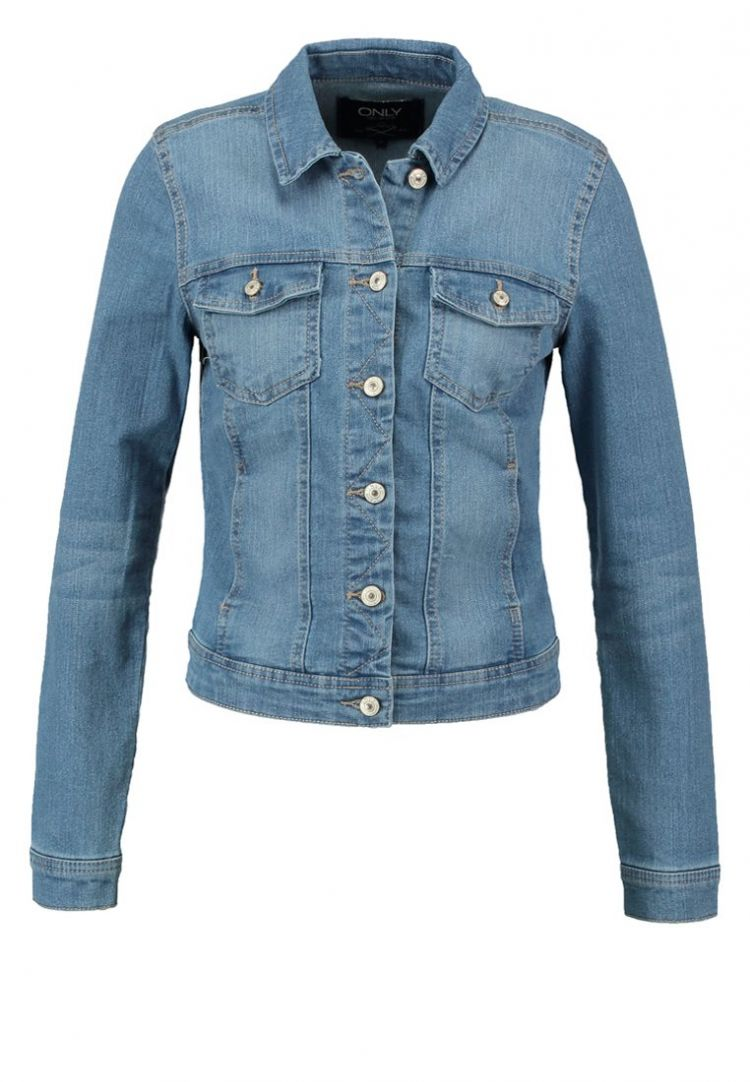 Image Only Onlwesta Spijkerjas Light Blue Denim