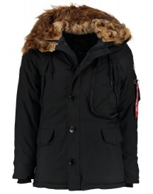 Alpha Industries Winterjas Black afbeelding