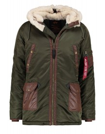 Alpha Industries Winterjas Dark Green afbeelding