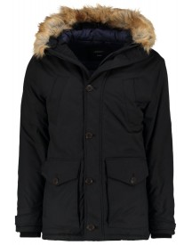 Burton Menswear London Ritter Winterjas Black afbeelding
