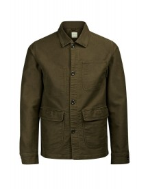 Jack & Jones Korte Jassen Olive Night afbeelding