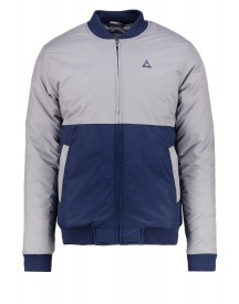 Le Coq Sportif Wupi Teddy Bomberjacks Titanium/dress Blues afbeelding