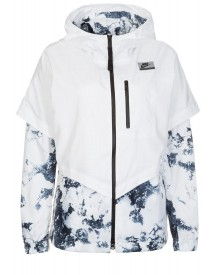 Nike Sportswear International Windrunner Korte Jassen White afbeelding