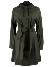 Rains Curve Parka Green afbeelding