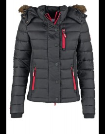 Superdry Fuji Slim Fit Winterjas Black afbeelding