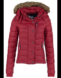 Superdry Fuji Slim Fit Winterjas Wine Red afbeelding