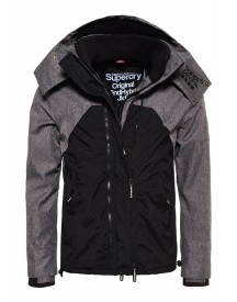 Superdry Jas Black/dark Charcoal/black afbeelding