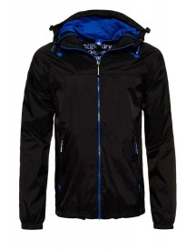 Superdry Korte Jassen Black/royal afbeelding