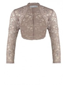 Young Couture By Barbara Schwarzer Blazer Greige afbeelding