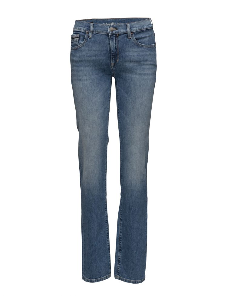 Image Mid Rise Straight -, Calvin Klein Jeans Jeans