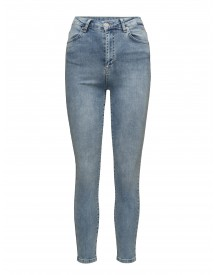 Amy 835 Crop, Blue Silky, Jeans 2nd One Jeans afbeelding