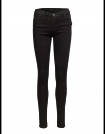 Nicole 002 Satin Black, Jeans 2nd One Jeans afbeelding
