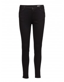 Pil 002 Satin Black, Jeans 2nd One Jeans afbeelding