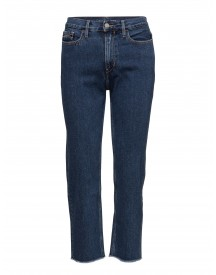 High Rise Straight C Calvin Klein Jeans Jeans afbeelding