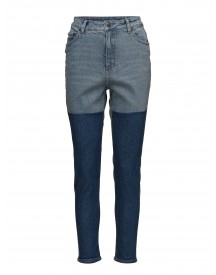 Donna Block Blue Cheap Monday Jeans afbeelding