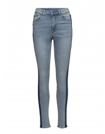 High Skin Break Up Blue Cheap Monday Jeans afbeelding