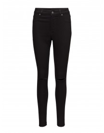 High Spray Cut Black Cheap Monday Jeans afbeelding