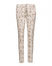 Daniela Pants - Bailey Fit Cream Jeans afbeelding