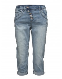 Floriana Jeans - Bailey Fit Cream Jeans afbeelding