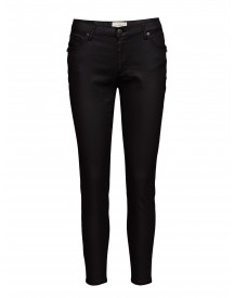 Penelope 374 Zip, Black Coated, Jeans Fiveunits Jeans afbeelding