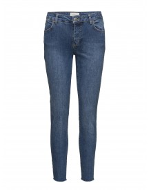 Penelope 410 Crop, Blue Wood Raw, Jeans Fiveunits Jeans afbeelding