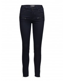 Aida-7/8-pa-rivet Free|quent Jeans afbeelding
