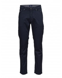 O1. Slim Twill Jeans Gant Jeans afbeelding