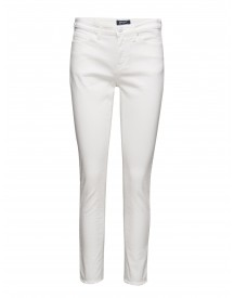O.kate Cr White Frill Stretch Jean Gant Jeans afbeelding