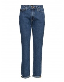 Mom Straight Stonewash Lee Jeans Jeans afbeelding