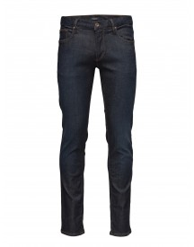 Tapered Fit Jeans-dk Blue Lindbergh Jeans afbeelding