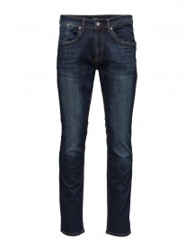 Priston Blue Vintage Washed Denim Matinique Jeans afbeelding