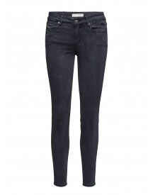 Stretch Blueblack Cropped Jean Odd Molly Jeans afbeelding