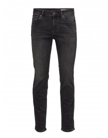 Shnslim-leon 1005 Grey St Jns Noos Selected Homme Jeans afbeelding