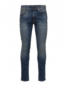 Shnslim-leon 1428 Mid.blue St Jeans Sts Selected Homme Jeans afbeelding