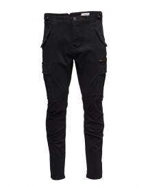 Shxnaples Black Slim Cargo St Pant Selected Homme Jeans afbeelding