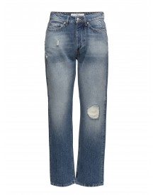 Pearl_distressed Blue Won Hundred Jeans afbeelding