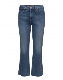Cropped Flare Dancing Days Wrangler Jeans afbeelding
