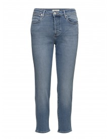 Cropped Straight  Blue Jean Baby Wrangler Jeans afbeelding