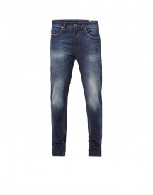 Diesel Buster Regular Slim-tapered Fit Jeans 0853r afbeelding