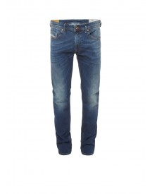 Diesel Thommer Skinny Fit Low Waist Jeans Met Faded Look 084bu afbeelding