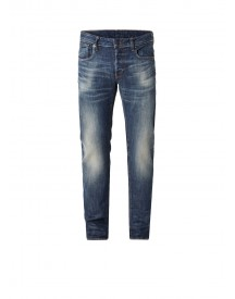 G-star Raw 3301 Slim Fit Jeans Met Faded Wassing afbeelding