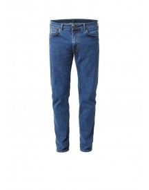 Gant Mid Rise Regular Straight Fit Jeans Met Medium Wassing afbeelding