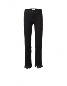 Maje Panako High Rise Jeans Met Fringes afbeelding