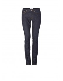 Sandro Pixies Slim Fit Jeans In Donkere Wassing afbeelding
