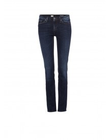 Tommy Hilfiger Rome Mid Rise Straight Fit Jeans Met Faded Look afbeelding